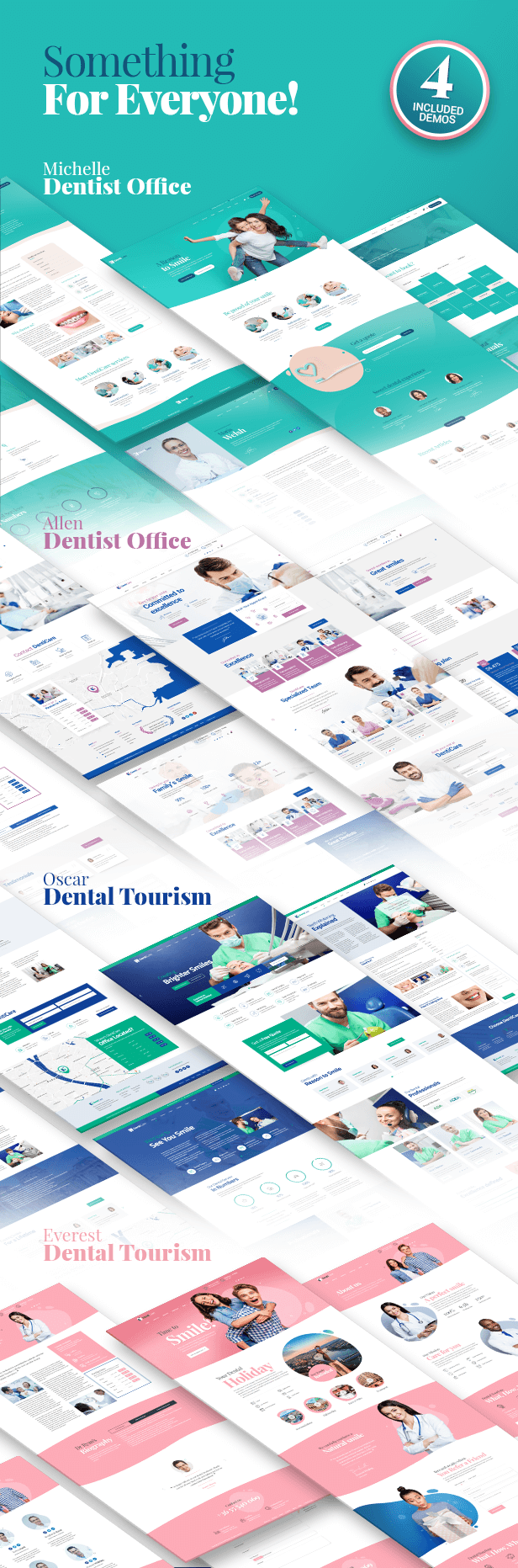 Theme-Info-004 DentiCare - WordPress Theme for Dentist & Dental Clinic theme WordPress